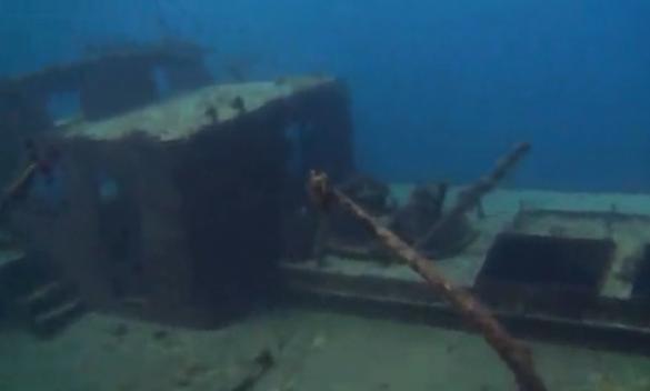 Wreck dive bermuda